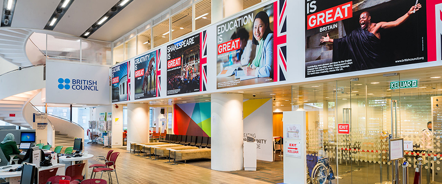 British Council - The Curve