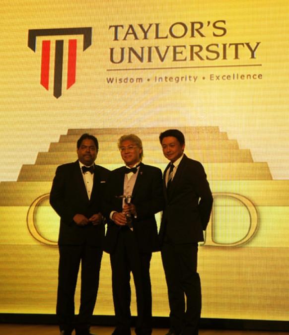 Taylor's University, Double Winner At Putra Brand Awards 2013