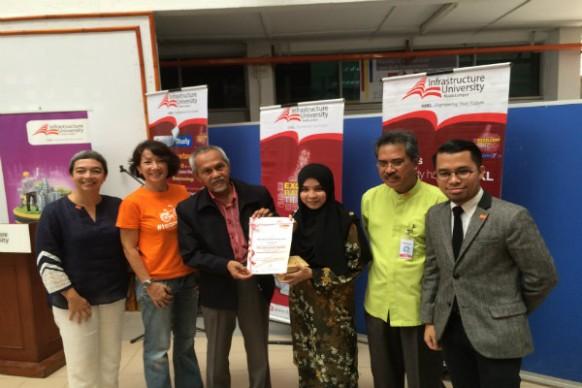 Infrastucture University Kuala Lumpur giving back to Mother Nature