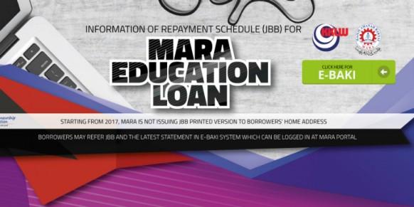 Update on MARA Education Loan Repayment