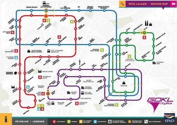 Public Transport Routes
