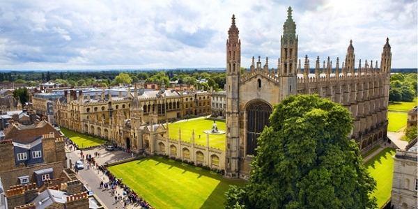 Studying at Cambridge University with Bill and Melinda Gates foundation